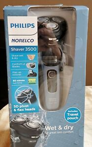 Philips Norelco - 3500 series Wet/Dry Electric Shaver - Storm Gray