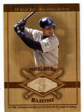 ALEX RODRIGUEZ 2001 UD SP GAME-USED BAT MILESTONE CARD