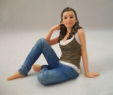 Resin Doll - Kate (sitting young woman) 3028 1/12 scale Houseworks