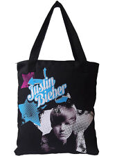 Original Justin Bieber Shopping Bag Schultertasche Tasche NEU Baumwolle