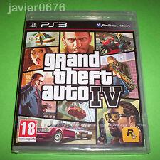 GRAND THEFT AUTO 4 NUEVO Y PRECINTADO PAL ESPAÑA PLAYSTATION 3