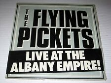SEALED The Flying Pickets LIVE AT THE ALBANY EMPIRE AVM Records/Jem Import