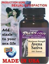 MAXIMUM STRENGTH AVENA SATIVA - 575 mg - 60 Capsules - MALE STAMINA SEXUAL