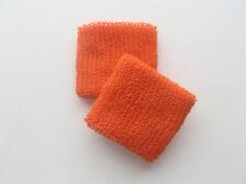 Luz naranja sudadera Muñequera Pulseras Small/med-Uk libre envío!