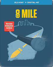 NEW 8 Mile steelbook Blu-ray + UltraViolet Digital HD (Eminem, Brittany Murphy)