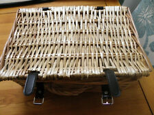 Small Basket Weave Picnic Basket
