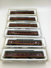 Con Cor N scale ~ set of 6 passenger cars ~ Norfolk And Western