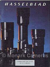 Medio formato HASSELBLAD BROCHURE lente della fotocamera, più cataloghi & volantini elencati