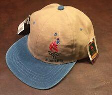 ATLANTA 1996 OLYMPICS AUTHENTIC ADJ. SNAPBACK CAP HAT NWT