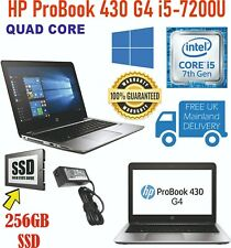 HP ProBook 430 G4 i5 7th Gen 2.7GHz 16GB RAM 256GB SSD Win 10