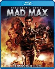 MAD MAX New Sealed Blu-ray Collector's Edition Mel Gibson