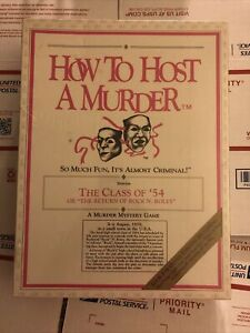 How to Host a Murder Class of '54 No. 40 The Return of Rock N. Roley New Sealed