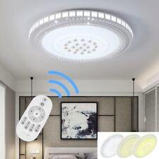 Luxus Kristall LED Deckenlampe Deckenleuchte Dimmbar Wohnzimmerlampe 42CM/78CM