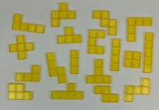Blokus Game Replacement Pieces Parts 2003 2005 Tiles Educational Insights Yellow