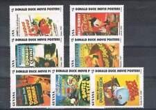 Serie Disney postfris MNH Guyana: Donald Movie Posters (dis081)