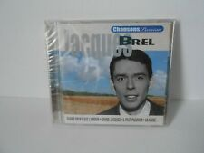Jacques Brel album cd chansons passion  neuf sous cello