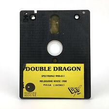 DOUBLE DRAGON · DRO SOFT ESPAÑA 1988 MELBOURNE HOUSE · DISKETTE SPECTRUM +3 DISK