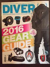 Diver Gear Guide Scuba Diving Camera Masks Vol 41 #1 2016 FREE SHIPPING