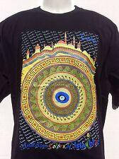 Istanbul Türkei Anatolische Farben istanblue schwarz T Shirt sz L Large NEU NWT