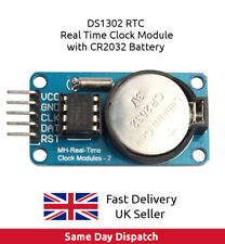 DS1302 RTC Real Time Clock Module with CR2032 battery for Arduino UK FAST
