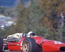 1967 Driver Chris Amon Glossy 8x10 Photo Formula 1 Us Grand Prix Poster Ferrari