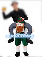 Carry Me Bavarian Beer Guy Ride On Oktoberfest Mascot V2 New Fancy Dress Costume