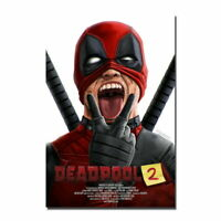 137612 2 Deadpool 2 Hot Movie Wall Print Poster Affiche