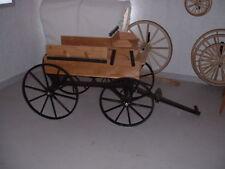 Hitch Wagon cart horse drawn buckboard pony buggy ornamental toy