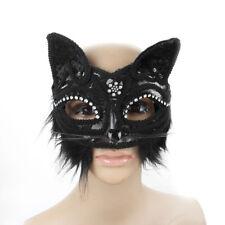 Chat Masque Yeux Dentelle Props Mascarade Catwoman Déguisement Soirée mascarad