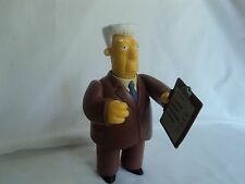 Playmates The Simpsons World of Springfield WoS Series 5 Kent Brockman Figure
