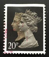 United Kingdom stamps - Queen Victoria and Queen Elizabeth II  20p 1990