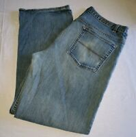 Perry Ellis Denim Faded Jeans Men's Size 36x30 Pants Modern Fit ...