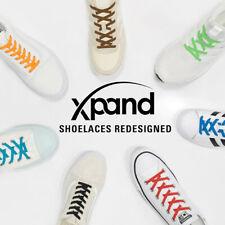 Xpand Laces - Original No Tie Elastic Shoe Laces - Various Colors & School Shoes