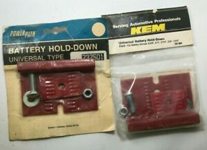 2 Pack PowerPath & Kem Universal Battery Hold Down Ford 22NF 27F 27NF 29F 29NF