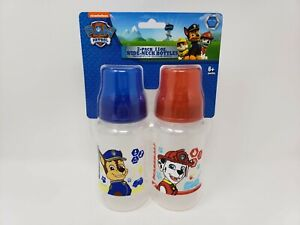 Nickelodeon Paw Patrol 2 Pack 11 oz. Wide Neck Bottles - New