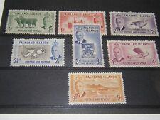 (C769) FALKLAND ISLANDS K.G.VI 1952 MINT STAMPS