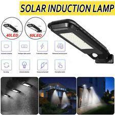 40/60W LED Solar Light Road Street Wall Lamp Outdoor Path Waterproof Garden  !