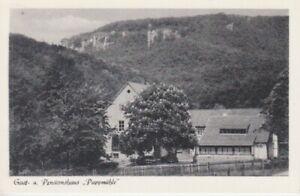 Ansichtskarte Niedersachsen   Gasthaus Pappmühle  Zersen über Hessisch Oldendorf