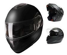 Modeka MV15 Motorradhelm Klapphelm schwarz matt Motorrad Helm