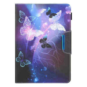 """Universal 10.1"""" 8"""" 7"""" Android Tablet Case Kids Magnetic Flip Stand Leather Cover"""
