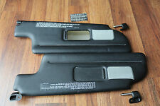 PORSCHE 911 964 993 TARGA CABRIOLET CONVERTIBLE SUN VISOR RIGHT LEFT PAIR BLACK