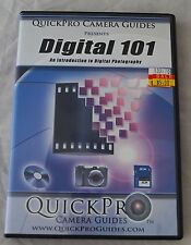 QuickPro Instructional DVD, Digital 101 an introduction to digital photography