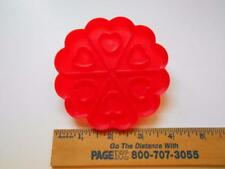 1989 WILTON WHEEL OF HEARTS COOKIE CUTTER RED VALENTINE
