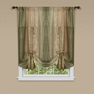 Ombre Tie Up Shade 50x63 - Earth
