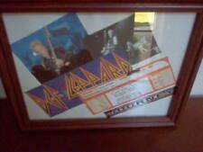 Def Leppard/Journey Dallas Smirnoff Music Centre Concert Ticket in 8 x 10 Frame