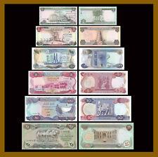 Iraq (Iraqi) 1/2 - 25 Dinars (6 Pcs Full Set), 1973-1980 5,10,25 are Au /LA158