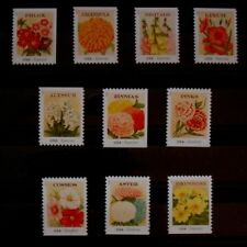 4754-4763 Vintage Seed Packets 10 Singles Garden Flowers