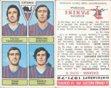 CALCIATORI PANINI A- 1971/72*FIGURINA STICKER *CATANIA-FRANCESCONI/BONFANTI*NEW