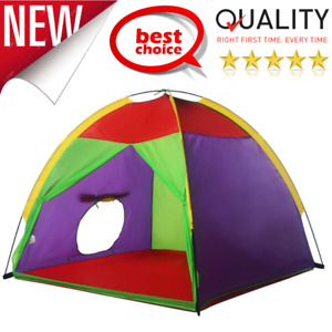 "Playhouse Kids Play Tent 58"" W/ Portable Carry Bag For Children Indoor Outdoor"