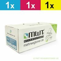 3x MWT Eco Cartridge For Epson Aculaser C-4100-PS C-4100-T